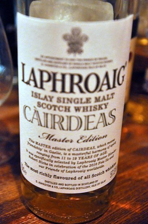 ラフロイグ Laphroaig NAS  'Cairdeas' (57.3%, OB, 2010) Master  Edition