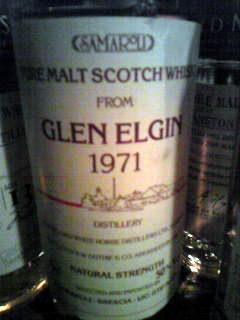 グレンエルギン Glen Elgin 1971/1985 (50%, Samaroli, White Label w. Distillery drawing, 75cl)