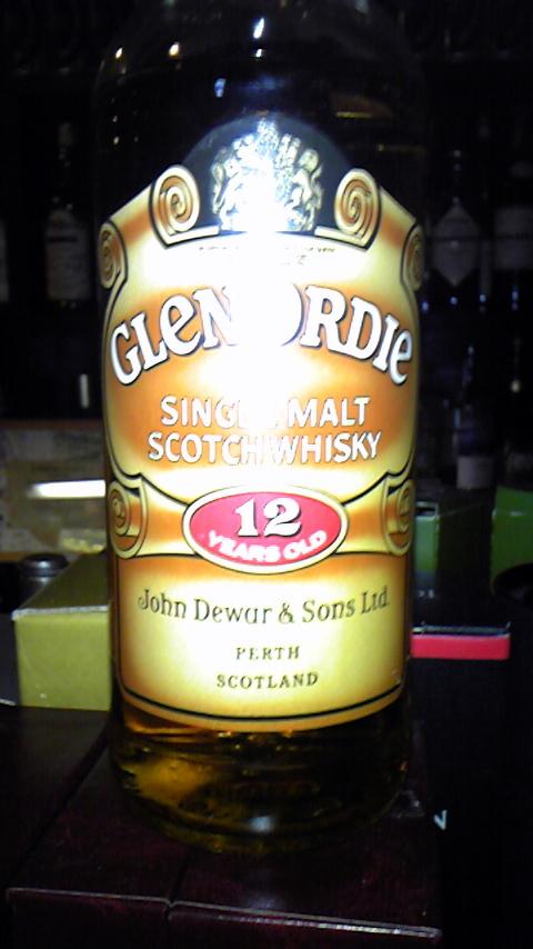 オード GLENORDIE 12yo (43%, John Dewar & Sons, 75CL)