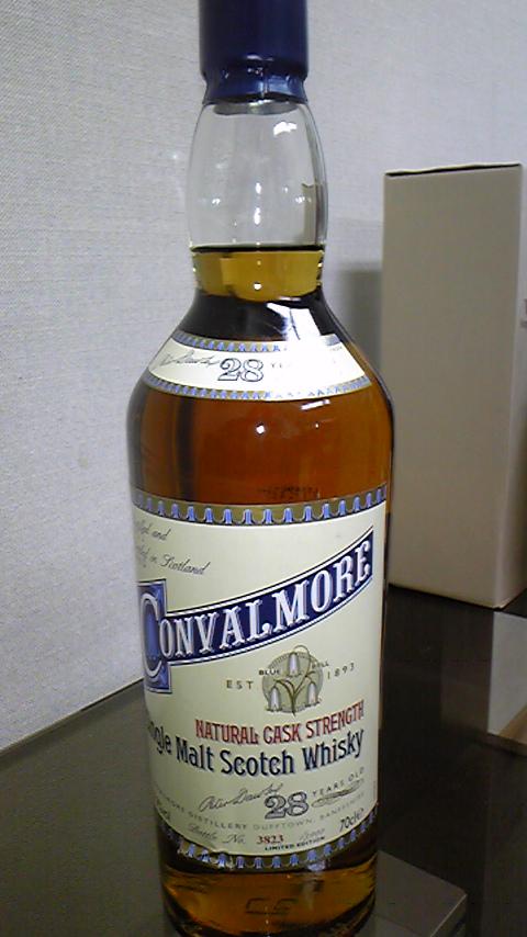 コンバルモア Convalmore 28 yo 1977/2005 (57.9%, OB) 3823/3900 Btls