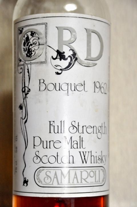 """オード Ord  22yo 1962/1984 (58%, Samaroli, Bouquet, 315/720Bts) The Great Bouquet by Samaroli, """"Pure Malt Scotch Whisky"""""""
