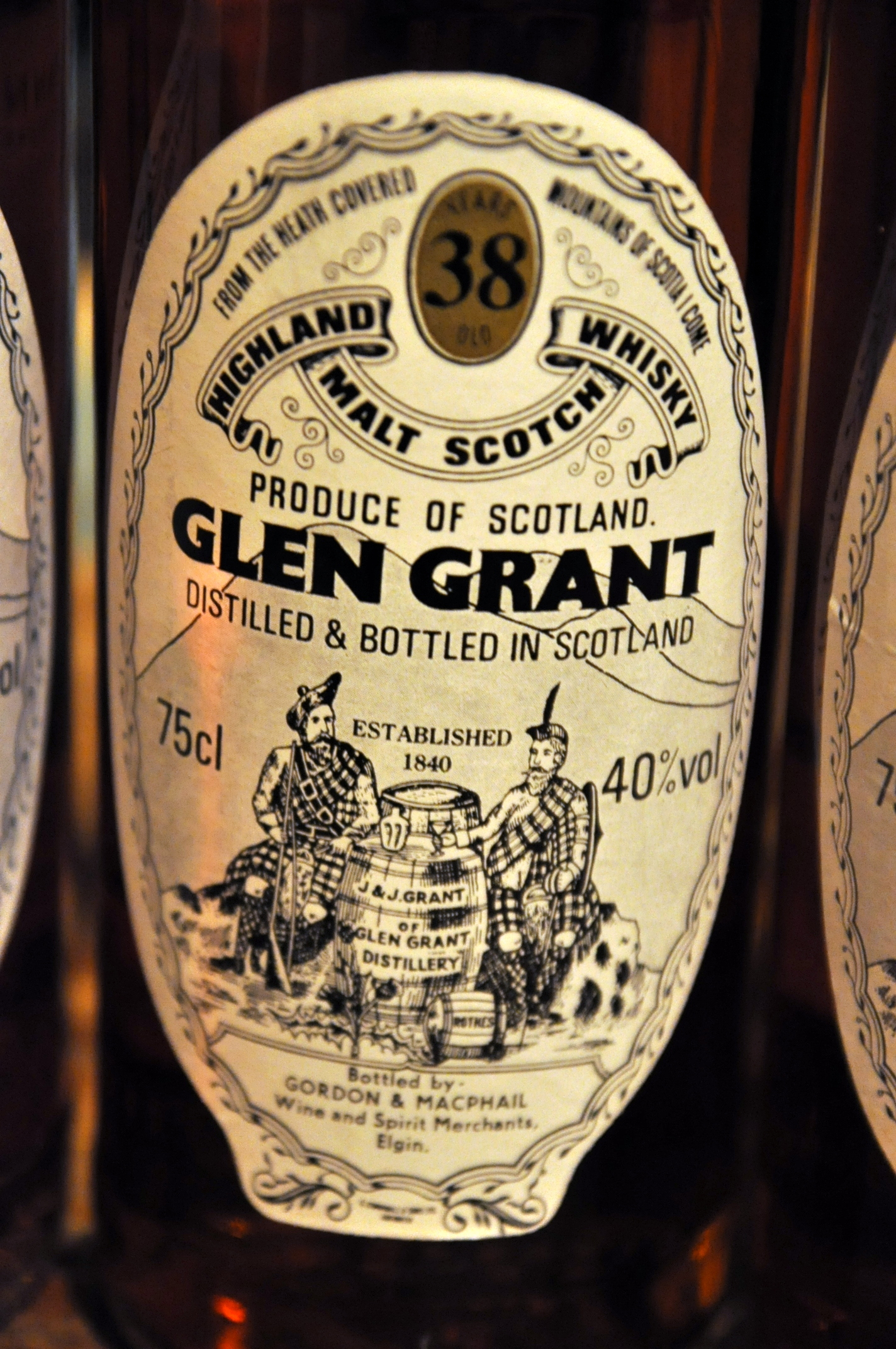 グレングラント Glen Grant 1949 38yo (40%, G&M Licensed bottling for Sestante, 75cl)
