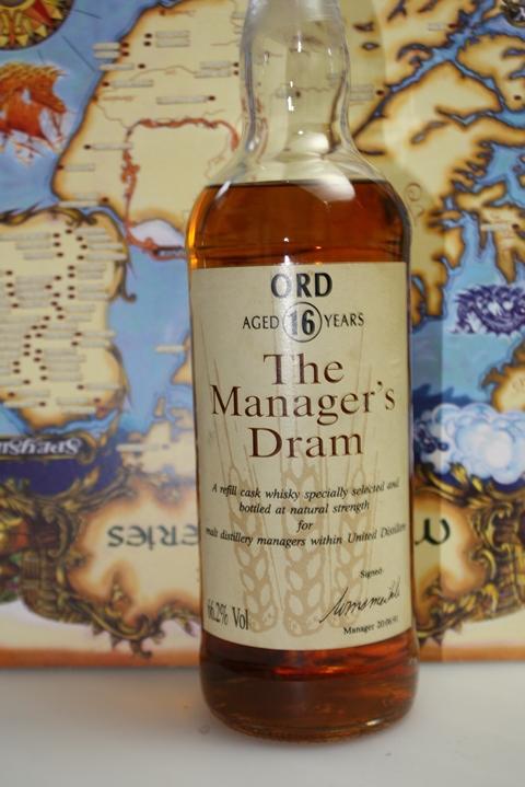 Glen Ord 16year Manager's Dram (66.2%, OB, 1991)