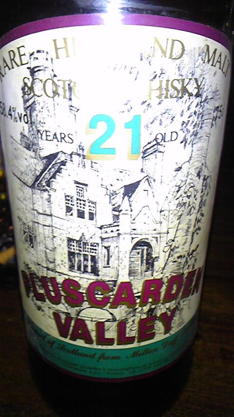 ミルトンダフ Miltonduff 21y Pluscarden (58.4%, G&M for Sestante, +/ 1989)