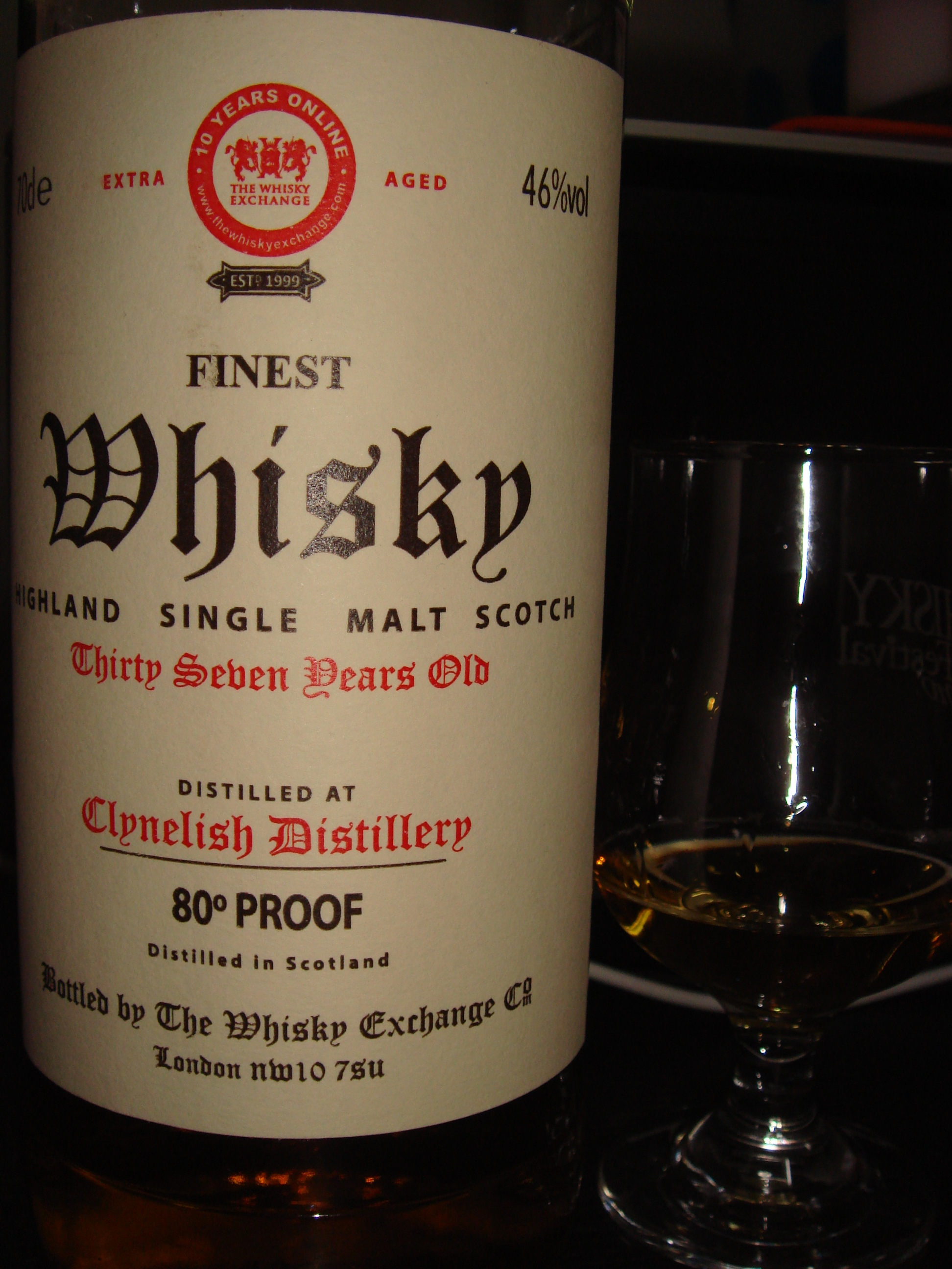 クライヌリッシュ / Clynelish 37年 The Whisky Exchange
