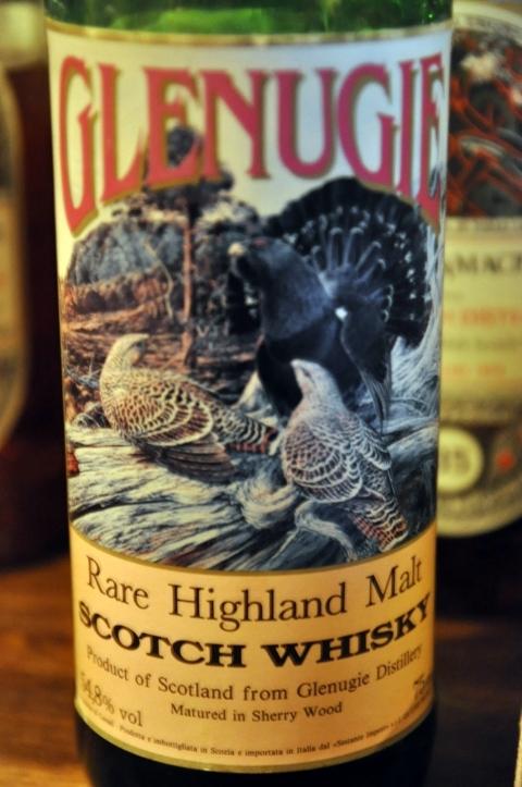 グレンアギー Glenugie 20 yo 1968 (54.8%, Sestante 'bird label', sherry)