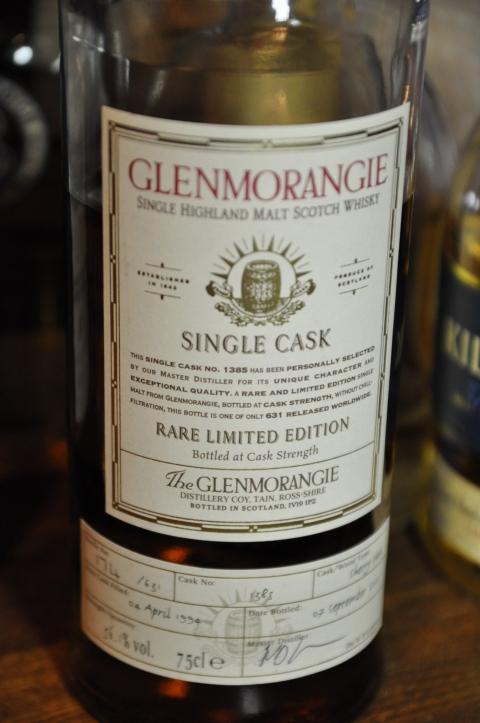 グレンモーレンジ Glenmorangie 1994/2005 'sherry cask' (56.1%, OB, C#1385, 174/631 Bts.) 2005
