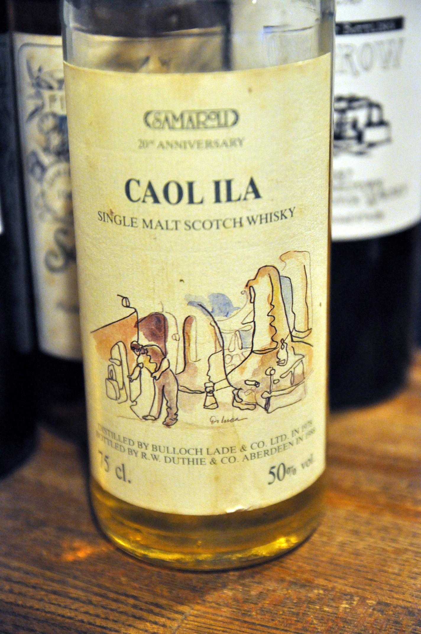 カリラ Caol Ila 1978/1988 (50%, Samaroli, 20 Anniversary Samaroli 1968 – 1988, 540bts)