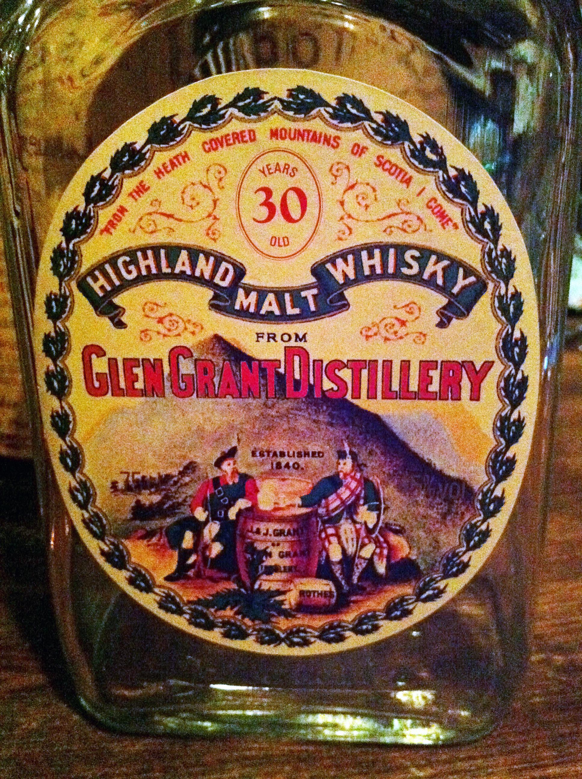 """グレングラント Glen Grant 30yo (45%, OB, """"150th Anniversary Reserve"""")"""