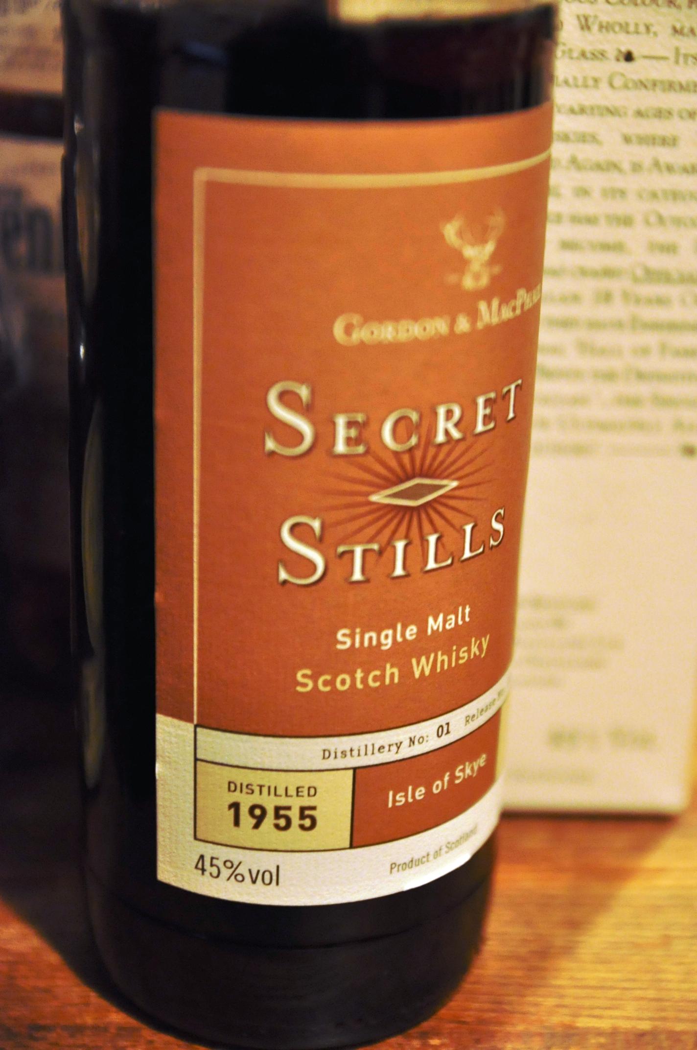 タリスカー Talisker 50yo 1955/2005 (45%, G&M, 'Secret Stills Number One' , C#1312)