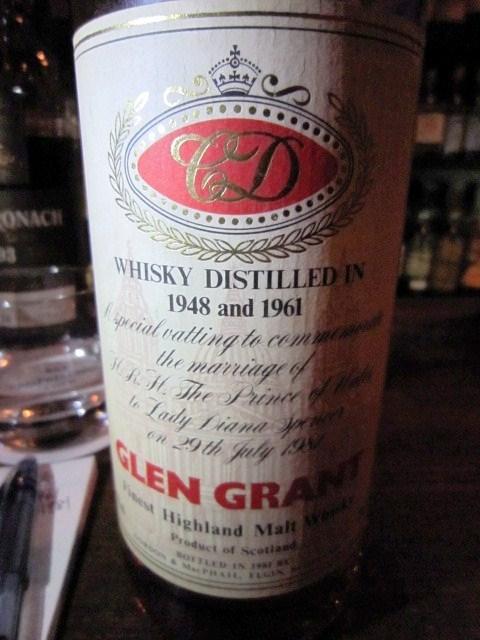 グレングラント Glen Grant 1948-1961/1981 (40%, G&M, Royal Marriage)