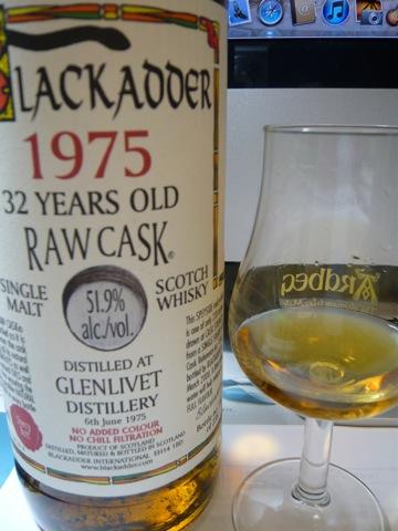 GLENLIVET 32 BLACKADDER RAWCASK.
