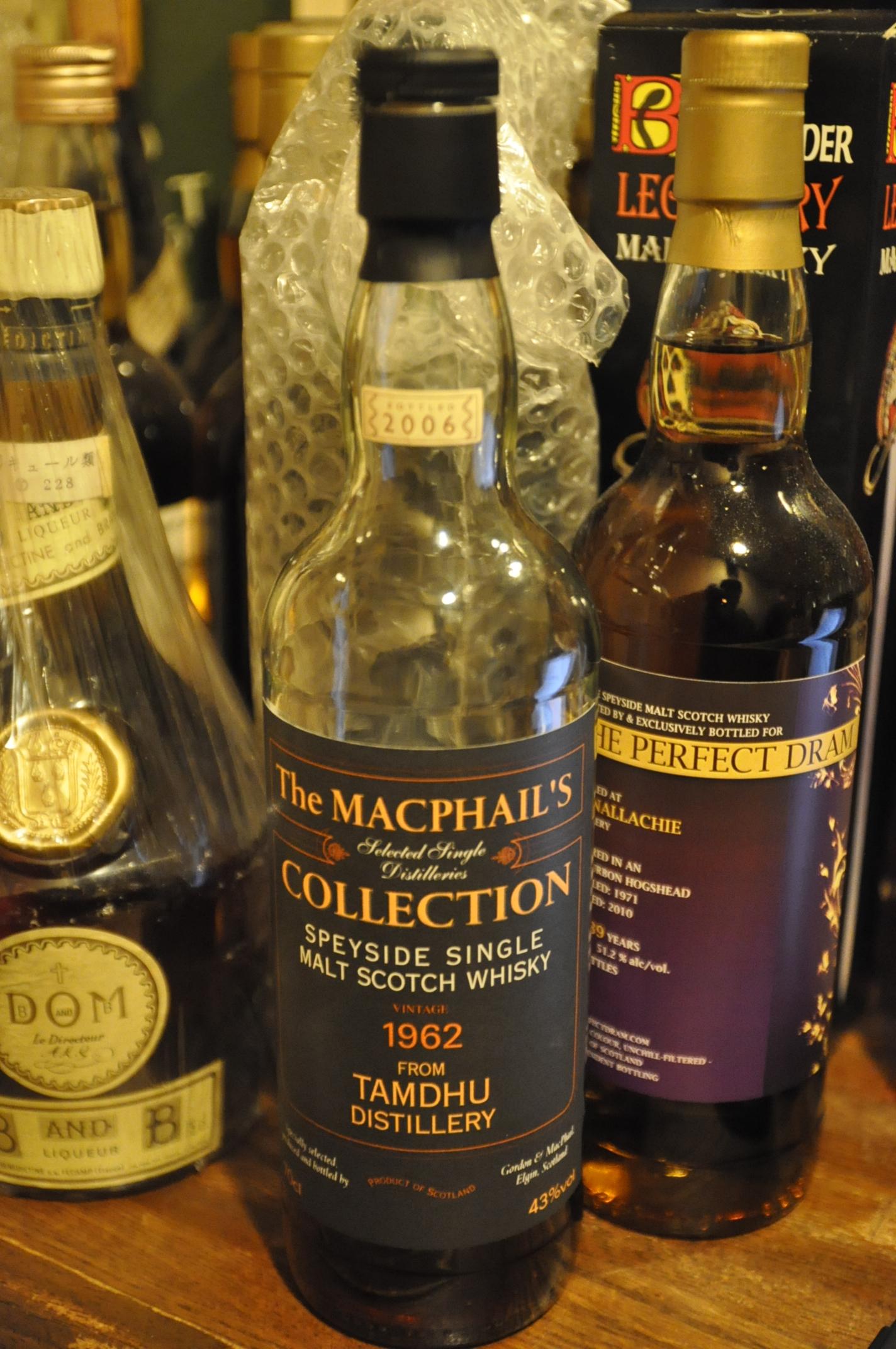 タムデュー Tamdhu 1962/2006 (43%, The MacPhail's Selected Single Distillery's Collection)
