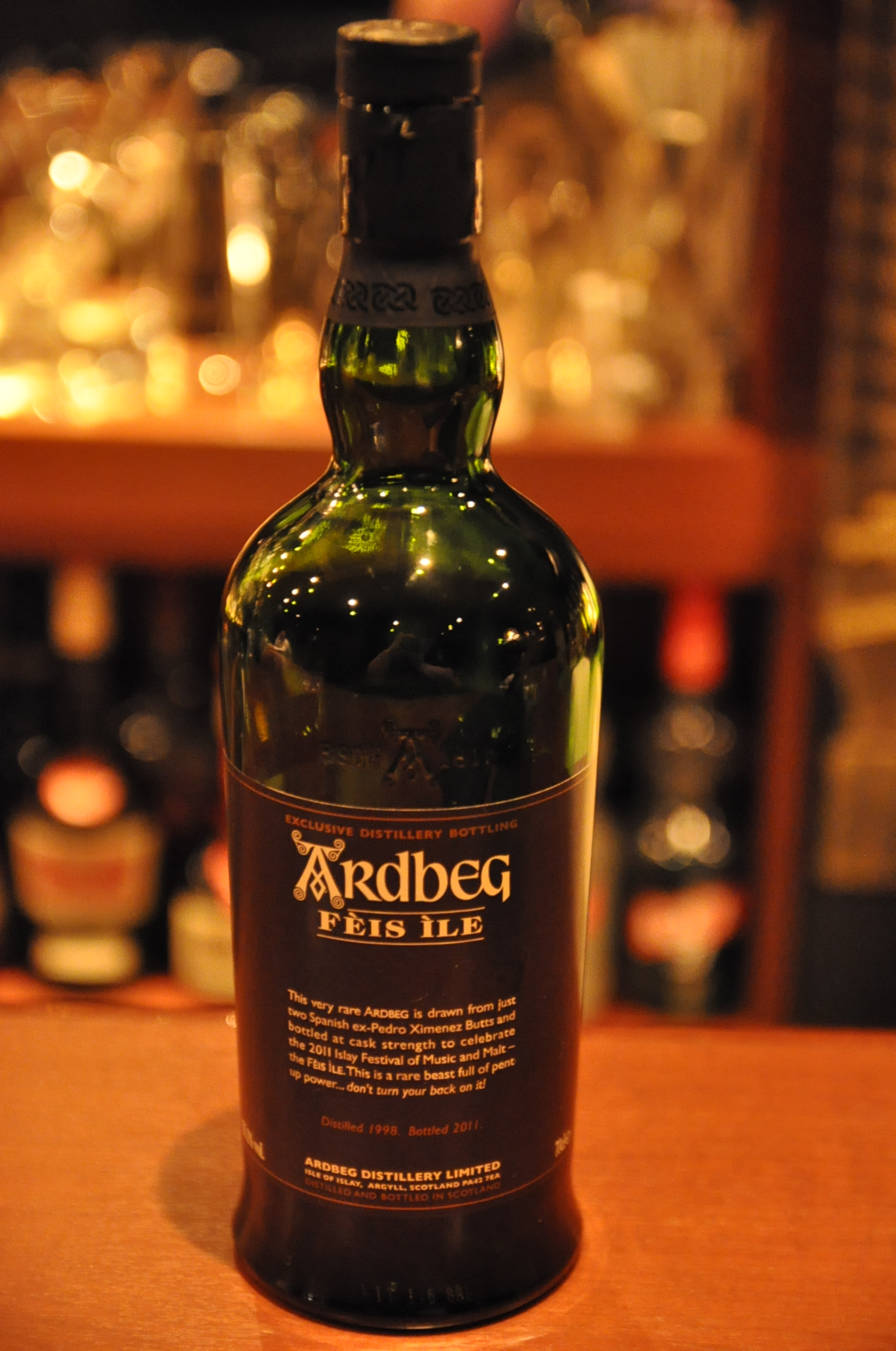 アードベッグ Ardbeg  Feis Bottling 1998/2011 (55.1%, OB, Spanish ex- Pedro Ximenez Butts)