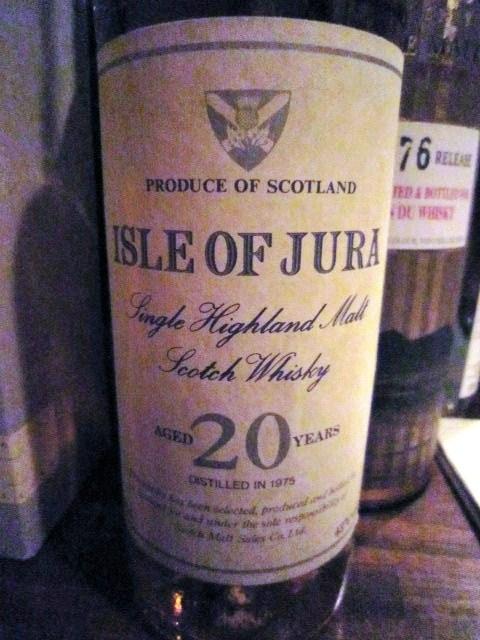 アイル オブ ジュラ Isle of Jura 20yo 1975 (43%, スコッチモルト販売)