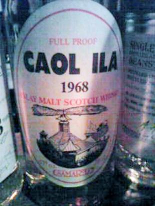 カリラ Caol Ila 1968 (57%, Samaroli, oval label, +/-1982, 75CL)