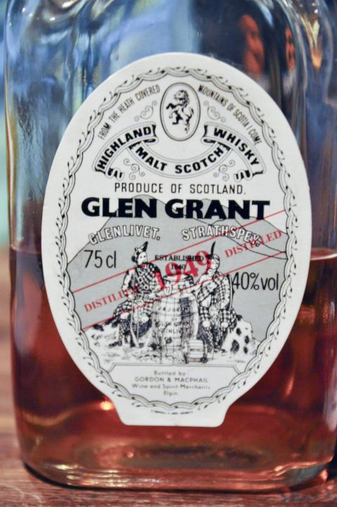 グレングラント Glen Grant 1949 (40%, G&M, Square bottle, for Italy, 75CL)  SESTANTE S.N.C.