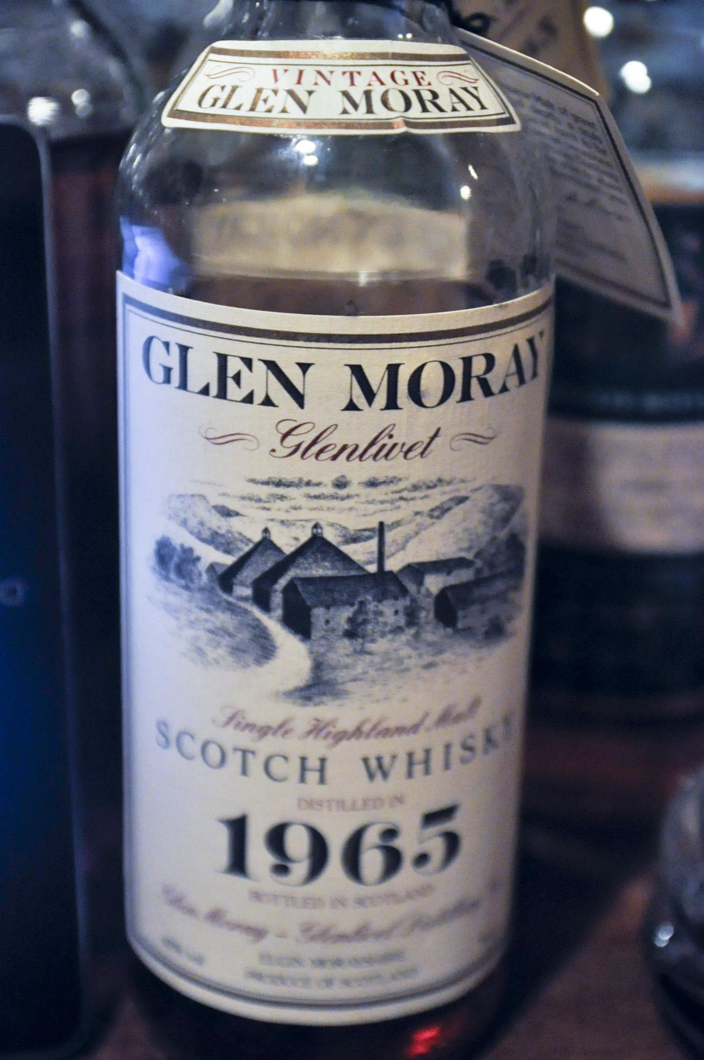 グレンマレイ Glen Moray 25yo 1965 (43%, OB)  ANA 免税向け