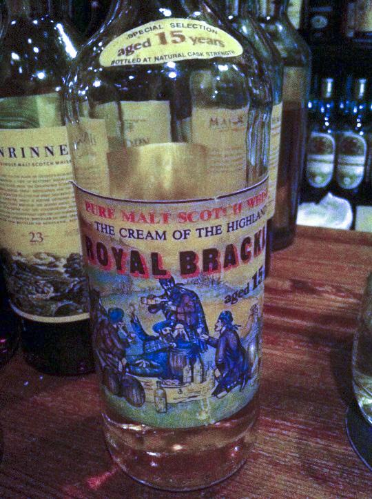ロイヤルブラックラ Royal Brackla 15yo 1972/1988 (64.5%, G&M for Intertrade, D07/'72 B07/'88, 75cl, 558bts) THE CREAM OF THE HIGHLANDS