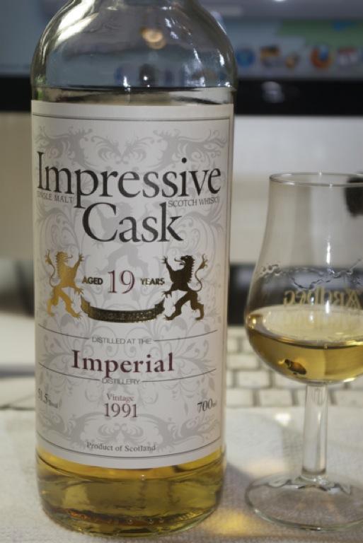 IMPERIAL Impressive Cask 19yo.