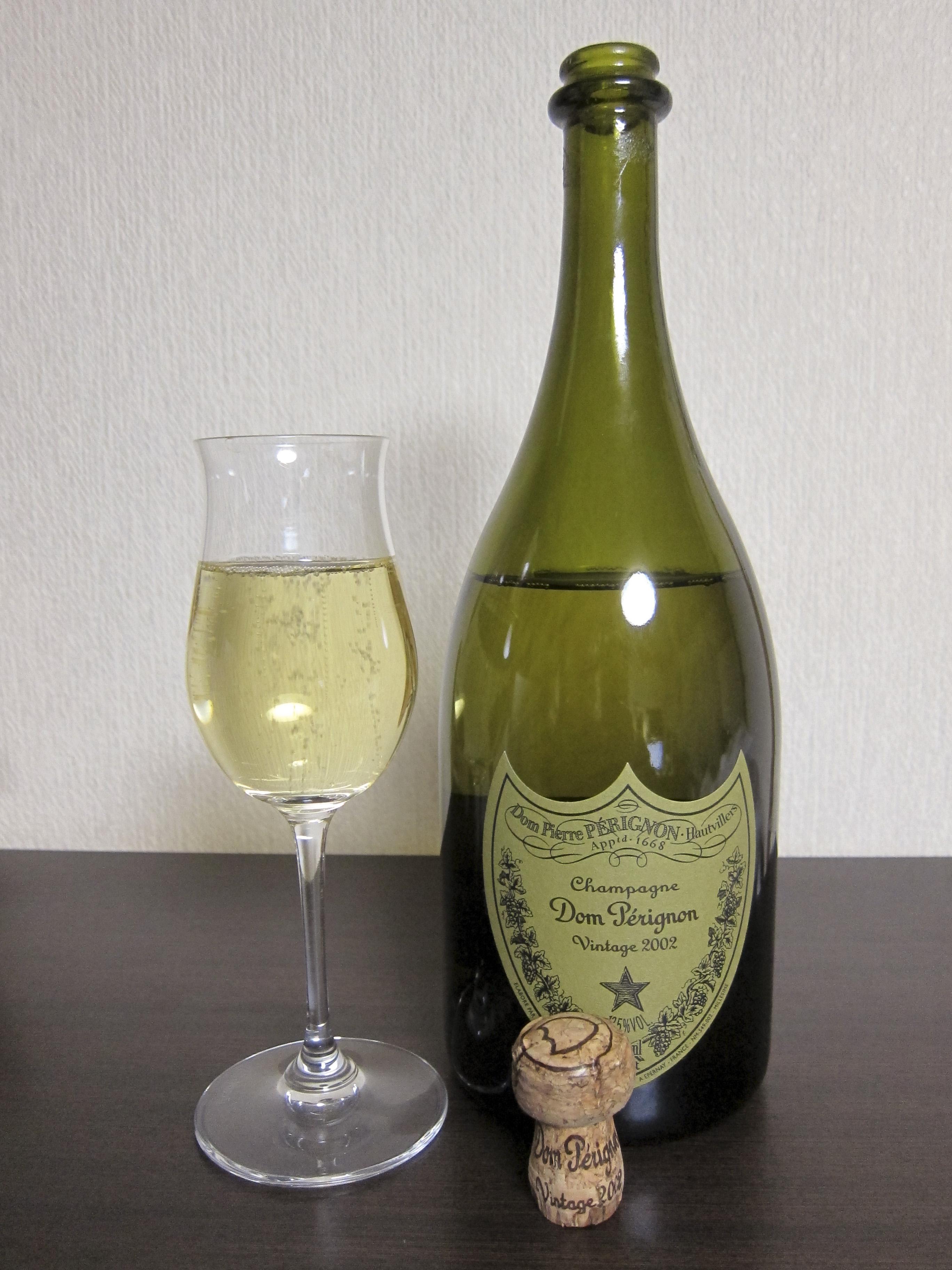 ドンペリニョン Dom Perignon  7yo  2002  (12.5%, OB, AOC Champagne)