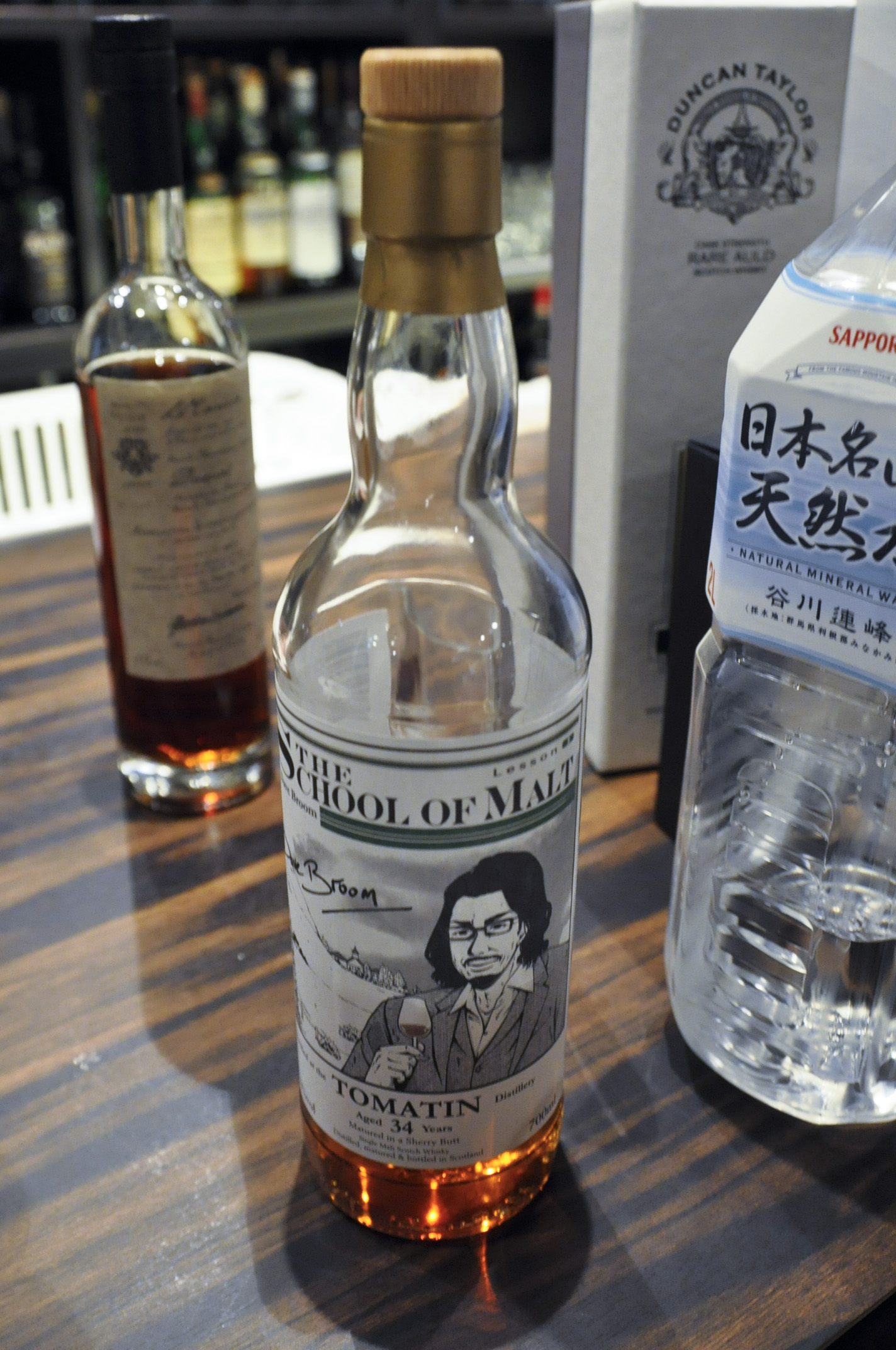 【BL/SC】トマーチン Tomatin 34yo 1976/2011 (51.3%, whisk-e, The School Of Malt, lesson 1, Dave Broom)