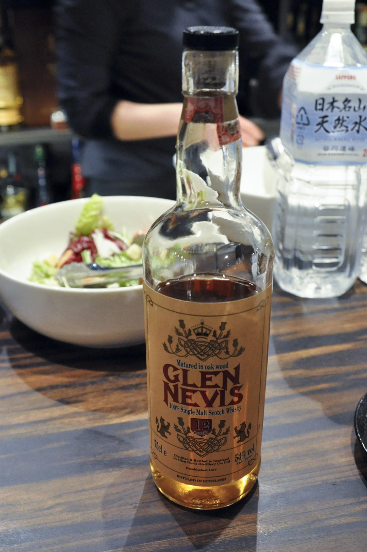 """【BL/SC】グレンネヴィス(グレンスコシア) Glen Nevis (GlenScotia) 12yo (54%, OB, """"100% Simglemalt Whisky"""", F&G-Bruino, Oak wood) Full Proof 表記"""