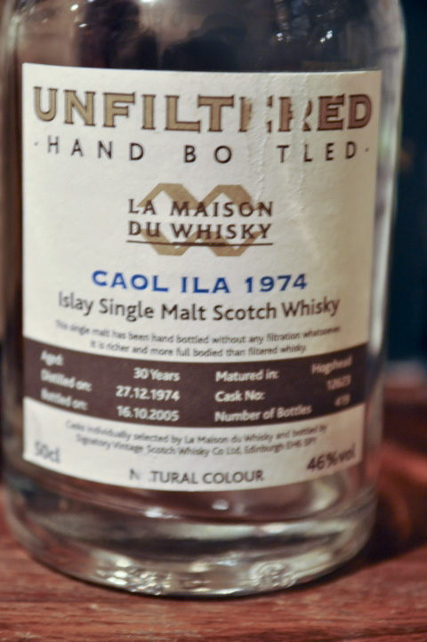 カリラ Caol Ila 30yo 1974/2005 (46%, LMdW, Dumpy, C#12623, 419 Bts.) Unfiltered Hand Bottled , 50CL