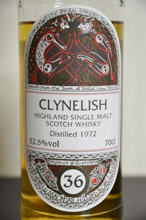 クライネリッシュ Clynelish 36yo 1972/2009 (52.5%, G&M for JIS, book of kells, C#14298  39/207Bts, Refill sherry Hogshead)