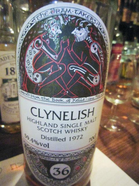 クライネリッシュ Clynelish 1972-2009 70CL 36yo 59.4% G&M for  LMdW リフィルシェリー