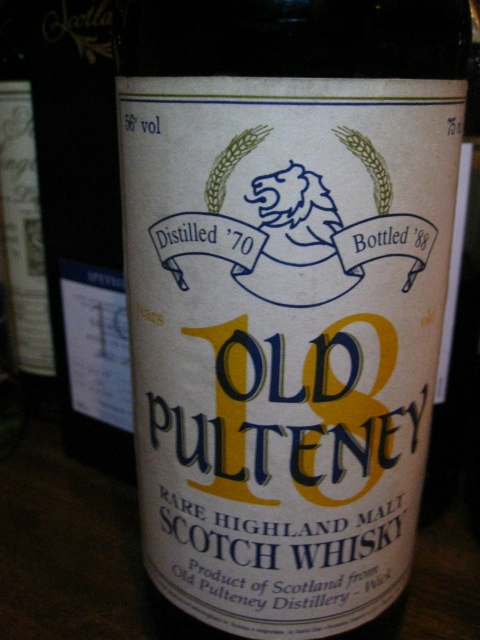 オールドプルトニー  Old Pulteney 18yo 1970/1988 (56%, G&M for Sestante, 75cl) High Proof