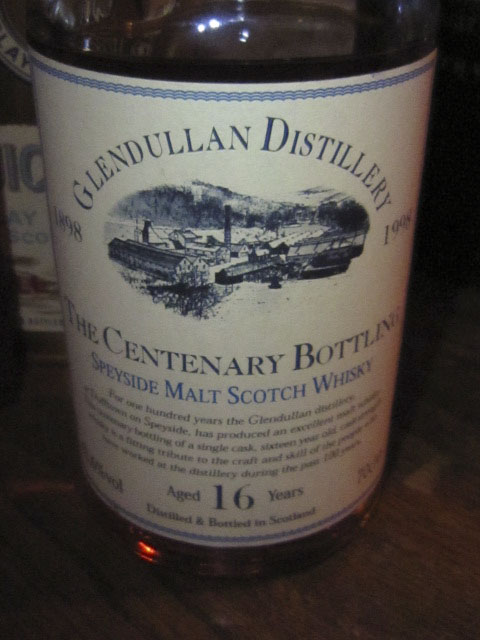 グレンダラン Glendullan 16yo (62.6%, OB, 1898/1998 centenary bottling)