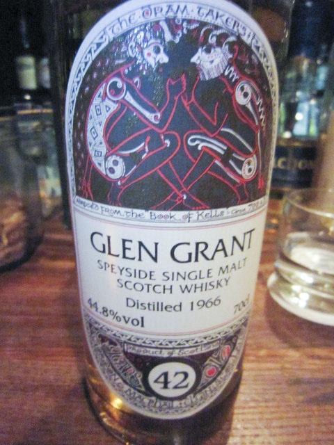 グレングラント  Glen Grant  1966 66/82本限定 42y 44.8% 70CL  リフィルシェリー G&M for  JIS