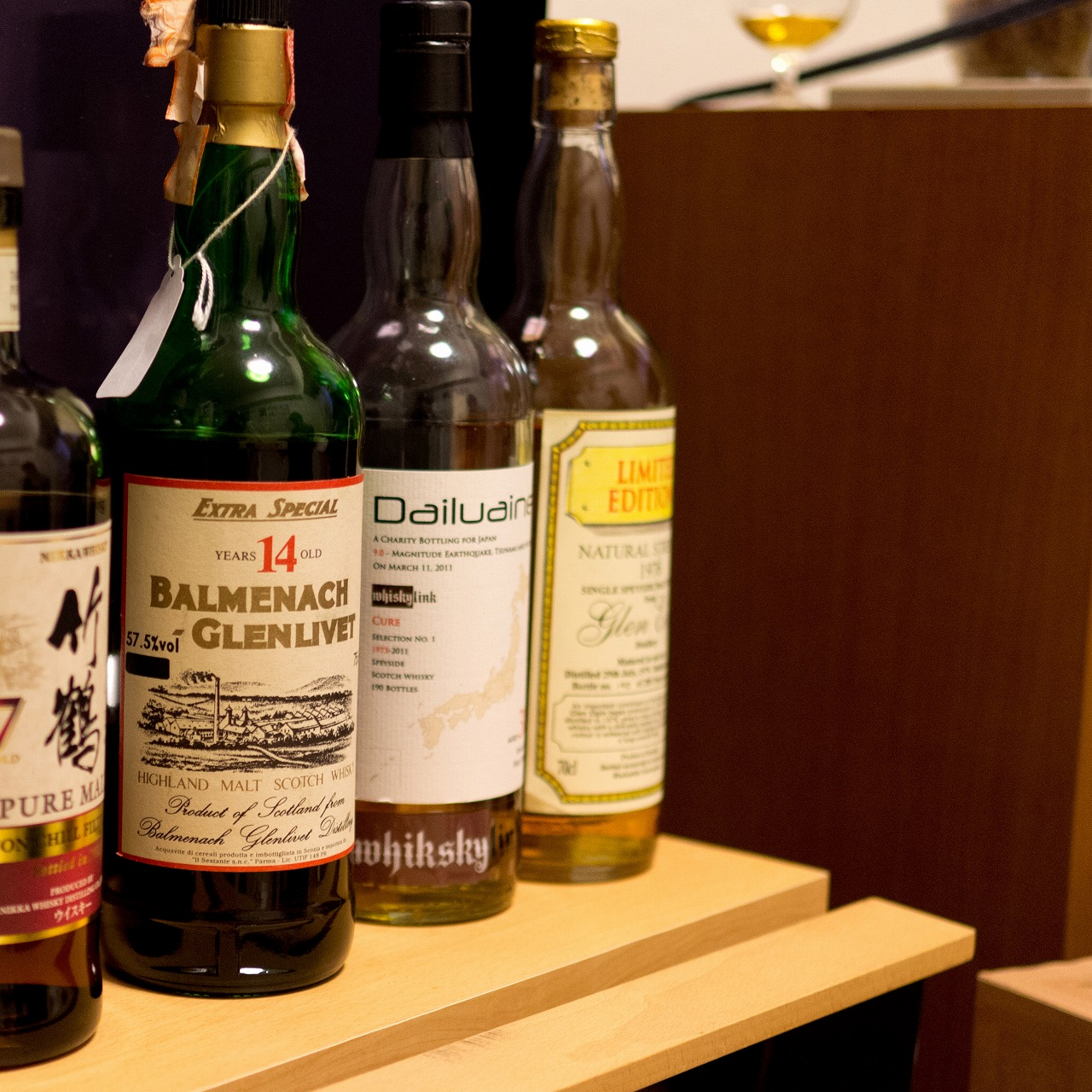バルメナック-グレンリベット Balmenach-Glenlivet 14yo (57.5%, OB for Sestante, early 1970's) c1972