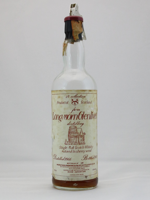 ロングモーン Longmorn-Glenlivet 1966/1985 (57%, Brae Dean Int. for Moon Import, sherry wood)