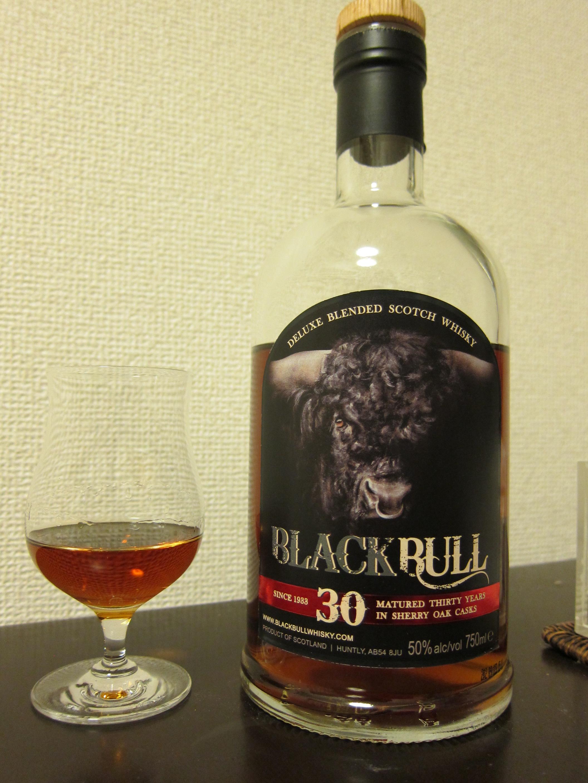 【ウィスキー日記】ブラックブル30年 50% (現行品)
