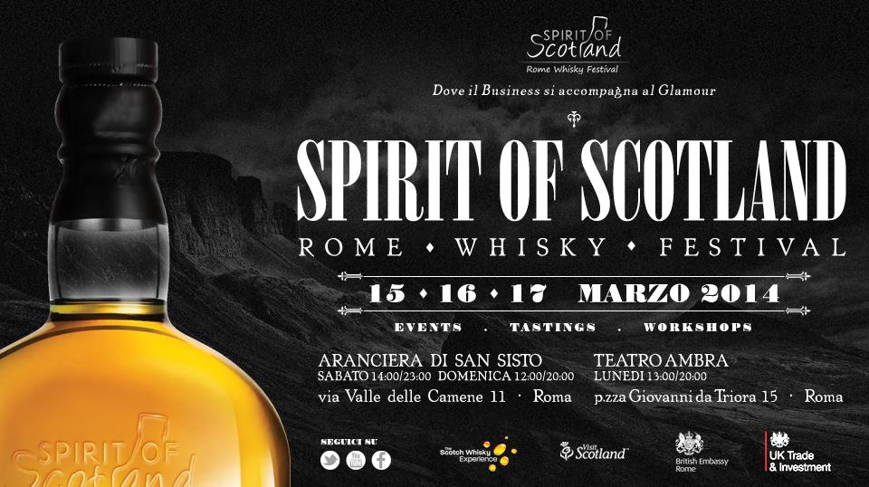 【3/15~】 Spirit of Scotland – Rome Whisky Festival