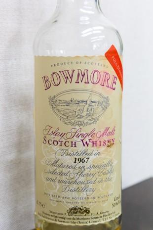 Bowmore 1967 'Full Strength' (50%, OB)