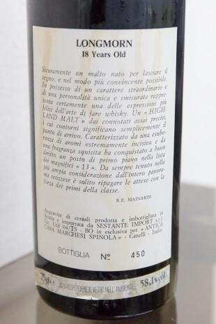 Longmorn 18 yo 1971 (58.1%, Sestante, Antica Casa Marchesi Spinola, Selection no.1, 75cl)