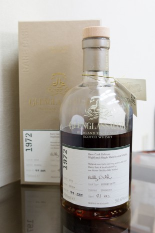Glenglassaugh 41yo 1972/2014(50.6%, OB, Rare Cask Releases Batch 1, finest Sherry Butt, Cask# 2114)