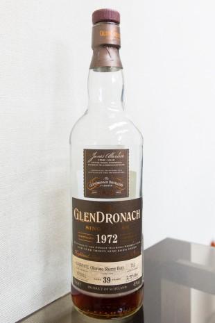 Glendronach 39 yo 1972/2011 (49.9%, OB, Batch 4, Oloroso Sherry Butt, cask # 712, 466 bottles)