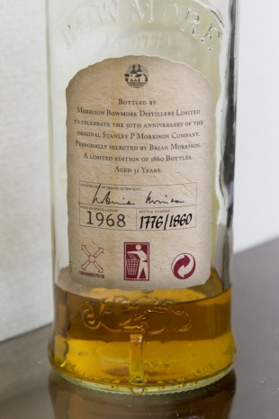Bowmore 32 yo 1968 'Anniversary Edition' (45.5%, OB, 1860 bottles)