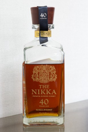 The Nikka 40 yo (43%, OB, 700 btls.)