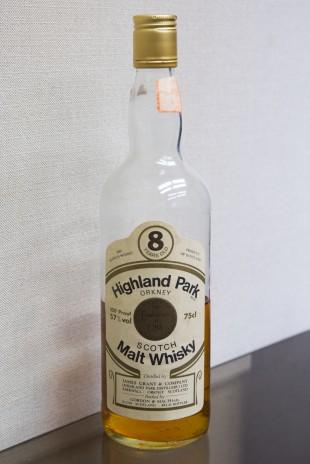 Highland Park 8 yo (100°proof, Gordon and MacPhail, 75cl, +/-1975)